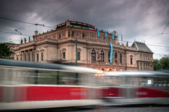 Tram of Prague Royalty Free Stock Photo