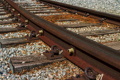 Tram rail Stock Images