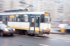 Tram ride Stock Images
