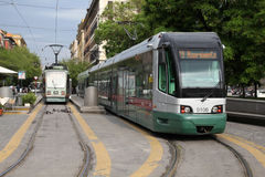 Tram in Rome Stock Photos