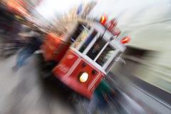 Tram rouge Image stock
