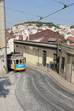 Tram 28 route, Lisbon Royalty Free Stock Image
