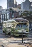 Tram in San Francisco Royalty-vrije Stock Foto