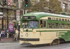 Tram a San Francisco Fotografia Stock