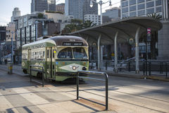Tram in San Francisco Stock Images