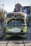 Tram in San Francisco Royalty Free Stock Photography