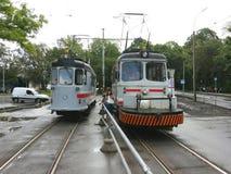 Tram service Stock Image