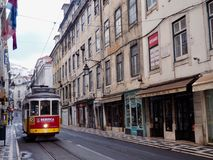 Tram silencieux Images stock