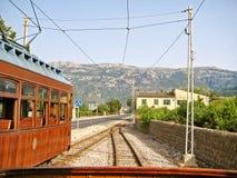 Tram of Soller - Port de Soller, Majorca Stock Photos