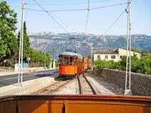 Tram of Soller - Port de Soller, Majorca Royalty Free Stock Photography