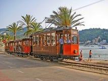 Tram of Soller - Port de Soller, Majorca Stock Photography