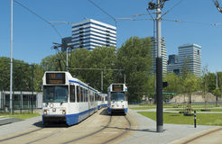 Tram station Royalty Free Stock Images