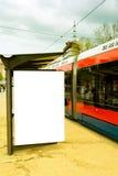 Tram station Royalty Free Stock Photo