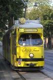 Tram, Straßenbahn, Laufkatze stockbilder