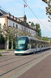 Tram in Strasbourg, France Stock Images