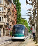 Tram in Strasbourg, France Royalty Free Stock Images
