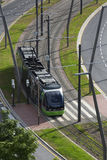 Tram System - Bilbao - Spain Royalty Free Stock Photo
