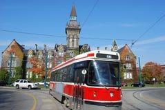 Tram in Toronto Stock Afbeeldingen