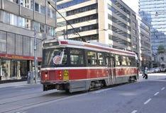 Toronto, 24th June: Tram from Toronto of Ontario Province in Canada. Tram from Toronto of Ontario Province in Canada on June 2017 Stock Photo