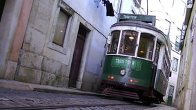 Tram Tour on Historic Routes stock video footage