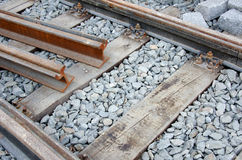 Tram track Royalty Free Stock Photos