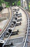 Tram Tracks royalty free stock photography
