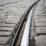 Tram Tracks Royalty Free Stock Image