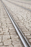 Tram Tracks, Dresden Stock Photos