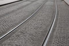 Tram Tracks Royalty Free Stock Image