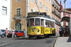 Tram 28 Stock Images