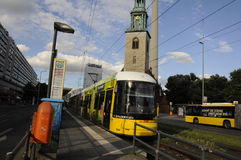 TRAM TRANSPORTATION Royalty Free Stock Images