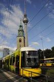 TRAM TRANSPORTATION. BERLIN/GERMANY 05. July 2017.   Tram transportation system in est Berling Germany    Photo.Francis Joseph  Dean/Deanpictures Stock Images