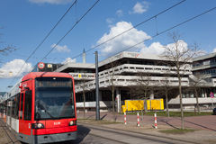Tram at the University of Bremen Royalty Free Stock Photography