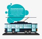 Tram urban passenger transport Stock Photo