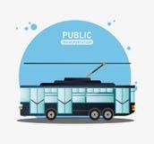 Tram urban public transport Royalty Free Stock Photo