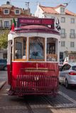 Tram van Lissabon, Portugal Stock Afbeelding