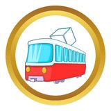 Tram vector icon Royalty Free Stock Photo