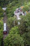 Tram at Victoria Peak, Hong Kong Royalty Free Stock Photo