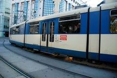 Tram in Vienna Stock Photo