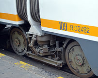 Tram Wheels Royalty Free Stock Image