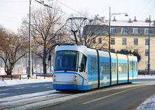 Tram in Wroclaw, Poland stock photos