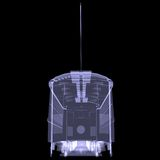 Tram. X-ray Stock Photo