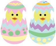 Trama de los polluelos de Pascua ilustración del vector
