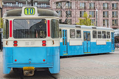 Tramcar do público de Gothenburg Fotografia de Stock