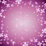 Trame abstraite de flore illustration stock