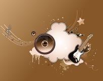 Trame abstraite de musique Photo libre de droits