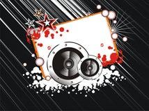 Trame abstraite de musique Image libre de droits