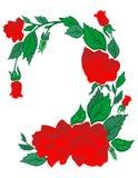 Trame abstraite des roses Illustration Stock