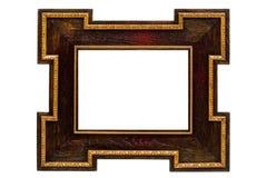 trame antique en bois Photos stock