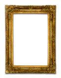 Trame antique en bois d'or Image libre de droits